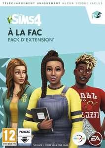 Pack d'extension Les Sims 4 : À la fac sur PC (code de téléchargement)