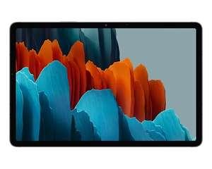 "[Étudiants] Tablette 11"" Samsung Galaxy Tab S7 avec Book Cover Keyboard + Galaxy Buds2 + Chargeur sans-fil"