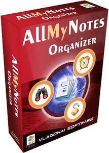 Logiciel AllMyNotes Organizer 3.44 gratuit sur PC (dématérialisé)