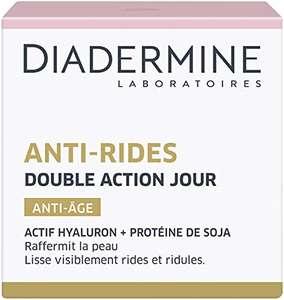Pot de crème visage Diadermine Anti-Rides Double Action Jour Anti-Âge - 50 ml