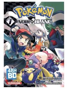 Manga Pokémon Noir et Blanc - Tome 1