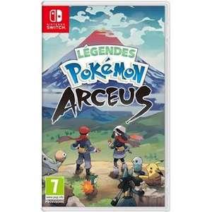 [Précommande] Légendes Pokémon : Arceus sur Nintendo Switch + Steel book (+10€ offerts aux adhérents)