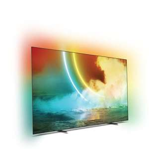 """Sélection d'articles en promotion - Ex : TV 65"""" Philips 65OLED705 - 4K UHD, Smart TV, Gris métal"""
