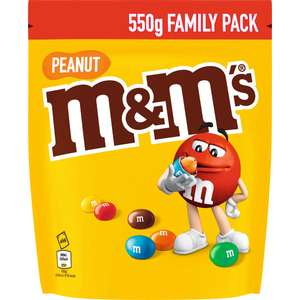Paquet de M&M's Peanut Family Pack 550g (Via 1.31€ sur Carte Fidélité)