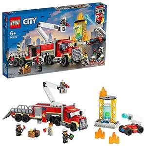 Jeu de construction Lego City (60282) - L'unité de commandement des pompiers (Via coupon)