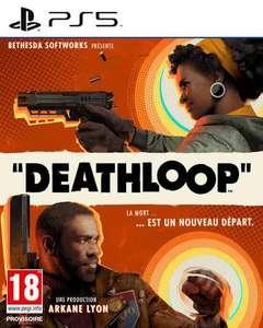 Deathloop sur PS5 via la reprise d'un jeu parmi une sélection