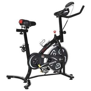 Vélo d'appartement cardio Biking, noir, volant d'inertie 6 Kg (148.49€ avec le code RENTREE08)