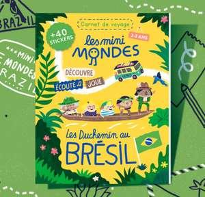 Abonnement de 12 Mois au magazine Les Mini Mondes (2-3 Ans ou 4-7 Ans)