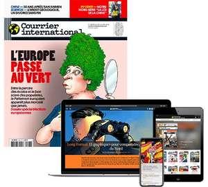 Abonnement au Courrier Internationnal Papier + Version Numérique (52 Numéros)