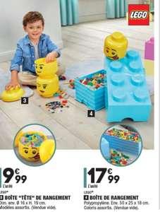 Caisse de rangement Lego - 50x25x18cm