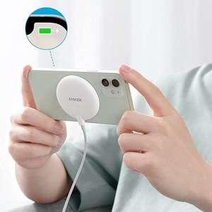 [Nouveaux clients] Chargeur sans fil magnétique Anker avec Câble USB-C pour Apple iPhone 12/13