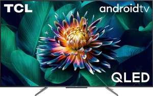 """TV 65"""" TCL C715 - 4K UHD, QLED, Android TV (via 100€ sur la carte de fidélité)"""