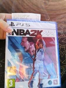 Jeu NBA 2K22 PS5/PS4