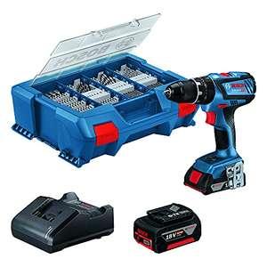 Perceuse à percussion sans-fil Bosch Professional GSB 18V-28 - 1 Batterie 2,0 ah, 1 Batterie 4,0 ah + Chargeur et L-case