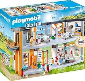 Jouet Playmobil City Life (70190) - Hôpital aménagé