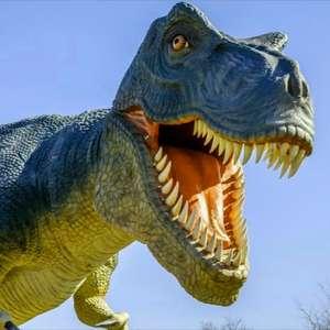 """Billet d'entrée au """"Parc Paléopolis - La colline aux Dinosaures"""" à 5€ & entrée gratuite pour les moins de 5 ans - Gannat (03)"""
