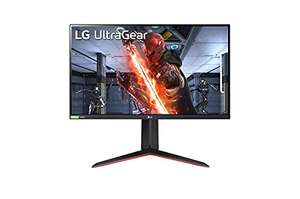 "Écran PC 27"" LG UltraGear 27GN650-B - Full HD, Dalle IPS, 144 Hz, 1 ms, FreeSync Premium"