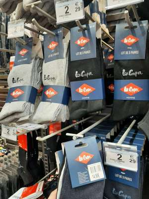 Lot de 3 paires de chaussettes Lee Cooper - St Brice (95)