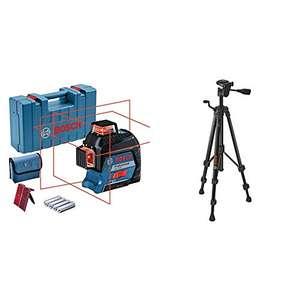 Laser à lignes Bosch Professional GLL 3-80 + trépied BT 150