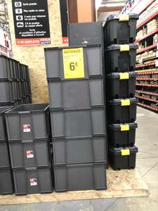 Bac de Rangement Plastique Masterbox 75l - Beauvais (60)