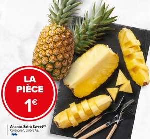 Sélection de Fruits et Légumes à 1€ - Ex : La pièce d'Ananas extra sweet