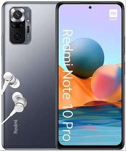"Smartphone 6.67"" Xiaomi Redmi Note 10 Pro - FHD+, AMOLED 120Hz, Snapdragon 732G, 6 Go RAM, 128 Go (via 100€ sur la carte) - Autun (71)"