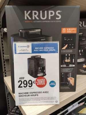 Machine à café Expresso avec broyeur Krups Essential YY4147FD
