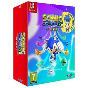 [Précommande] Sonic Colours: Ultimate - Day One Edition sur PS4, Xbox One & Nintendo Switch