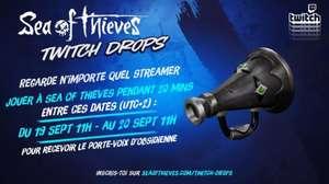 Contenu numérique gratuit Sea Of Thieves du 19 au 20 septembre (Twitch Drop - Dématérialisé)