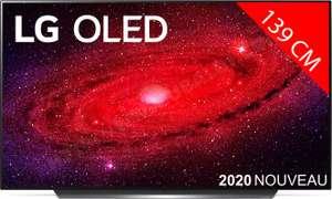 "TV 55"" LG OLED55CX6 - 4K UHD, HDR 10 Pro, 120 Hz, OLED, Dolby Vision IQ, Smart TV (Sables-d'Olonne 85)"