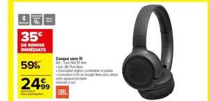 Casque sans fil JBL Tune 560 BT - Bluetooth, Noir