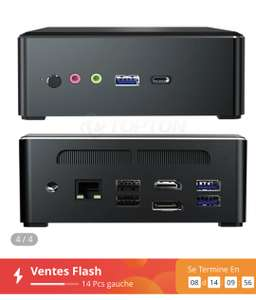 Mini PC T-Bao TBook MN35 - Ryzen 5 3550H, 16 Go de Ram, 512 Go