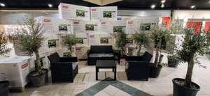 Salon de jardin 4 places Allibert, avec coussin d'assise - Carrefour market Nanteuil les Meaux (77)