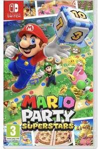 [Précommande] Mario Party Superstars sur Nintendo Switch (+10€ offerts en bon d'achat dès 20€ d'achat sur les JV/Musique & Vidéo)