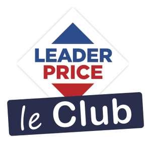 40% de réduction sur tout les site - leclubleaderprice.fr