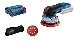Ponceuse excentrique Bosch Professional GEX 18V-125 Solo (18 V) - sans batterie, ni chargeur, L-BOXX