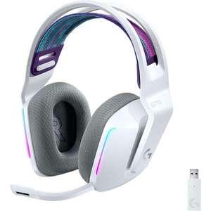 Casque audio Gaming sans-fil Logitech Lightspeed G733 - Blanc