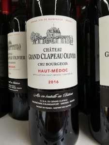 Bouteille de vin rouge Château Grand Clapeau Olivier - Triel-sur-Seine (78)
