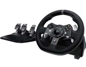 Kit Volant avec pédales Logitech G920 Driving Force pour Series X|S, Xbox One & PC