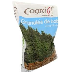 70 sacs granulés de bois Cogra (70 x 15 kg) - Narbonne (11)