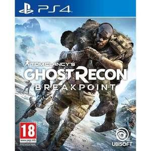 Jeu Tom Clancy's Ghost Recon : Breakpoint sur PS4 (vendeur tiers)