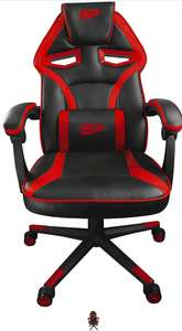 Chaise gaming Betterplay - Noir/Rouge