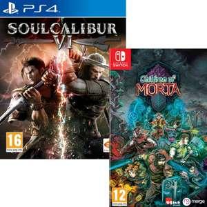 Soulcalibur VI sur PS4 & Xbox One ou Children Of Morta sur PS4, Xbox One & Nintendo Switch (Retrait magasin uniquement)