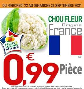 Chou-fleur Catégorie 1 Origine France - Ile De France