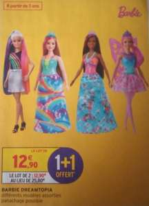 Lot de 2 poupées Barbie Dreamtopia - différents modèles