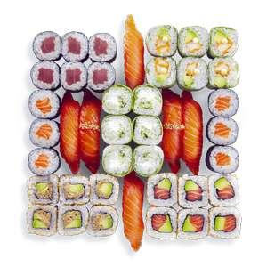 [Les mercredis] Plateau de 42 pièces Happy Sushi Box à emporter
