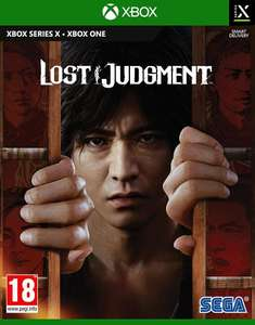 Lost Judgment sur Xbox Series X/One ou PS4 ou PS5