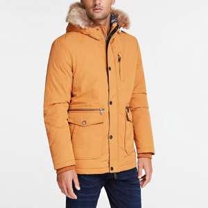 Veste doudoune Guess Midlength Realdown - orange (du S au XL)