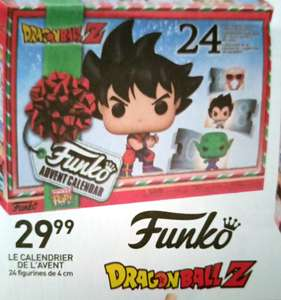 Calendrier de l'Avent Funko Pop! Dragon Ball Z - avec 24 figurines (4 cm)