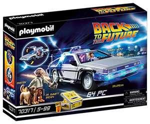 Jouet Playmobil Back To The Future Delorean - 70317